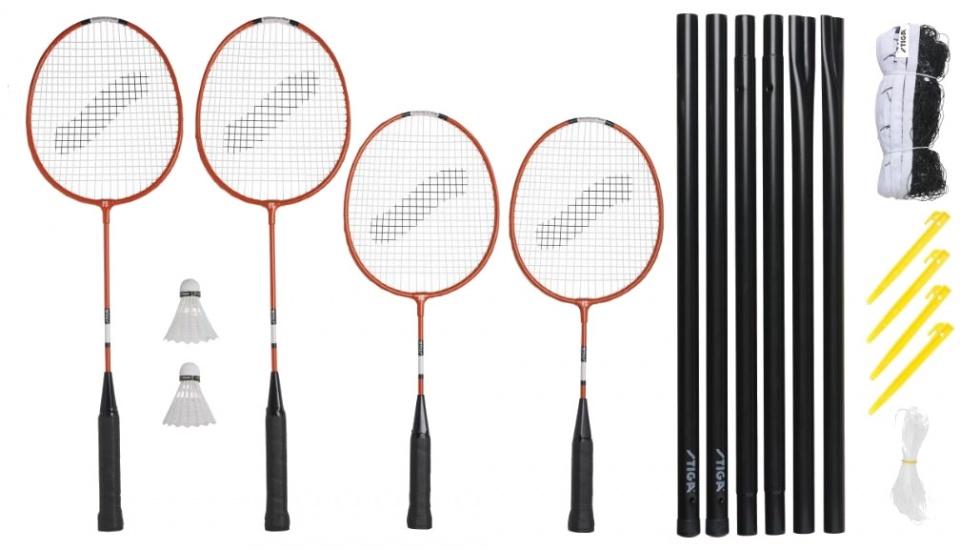 Alle Bedrijven Online: Stiga (Pagina 1) Badmintonset Kinderen