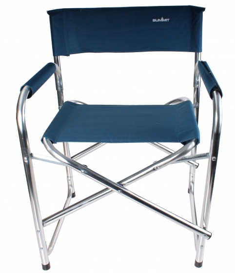 Summit campingstoel 50 cm blauw