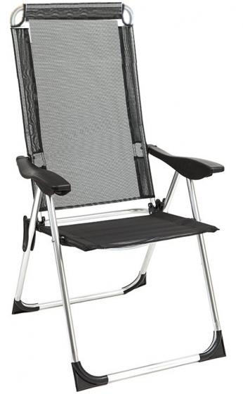 Summit Summit campingstoel High Back 54 x 54 x 90 cm zwart