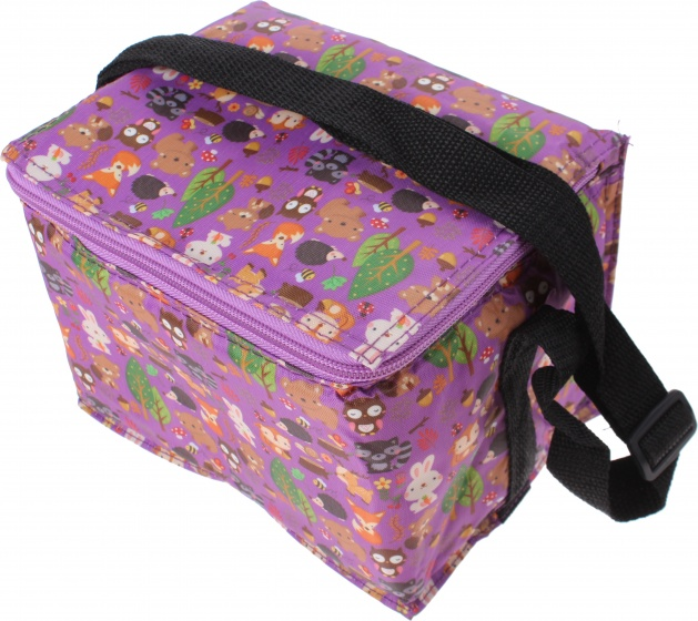 Summit cooler bag bosdieren purple 4 liters