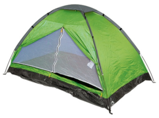 Summit Pinnacle Dome 2 persoons tent 200 x 120 x 105 cm groen