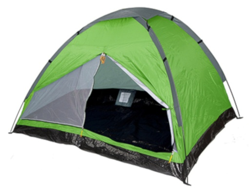 Summit Pinnacle Dome 4 persoons tent 240 x 210 x 130 cm groen