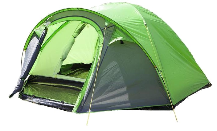 Summit Pinnacle Dome 4 persoons tent 270 x 210 x 140 cm groen