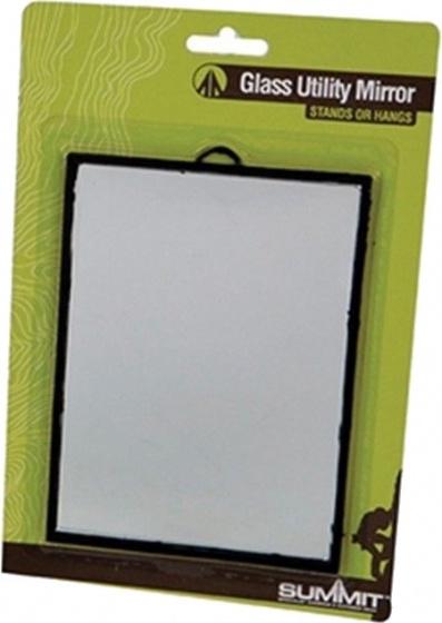 Summit spiegel met standaard zwart 17 x 12 cm