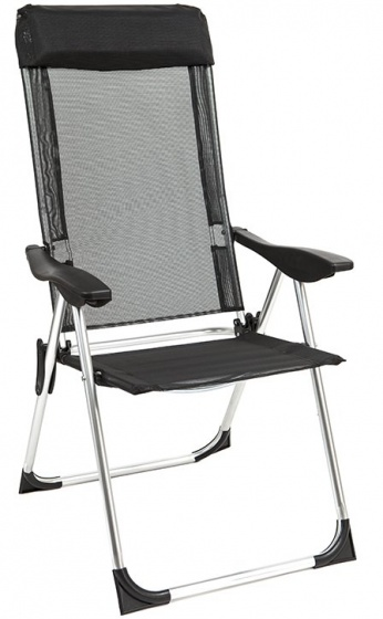 Summit Summit campingstoel High Back 54 x 54 x 90 cm zwart