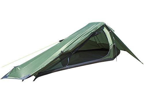 Summit trekker tent ��npersoons groen 270 x 175 x 90 cm