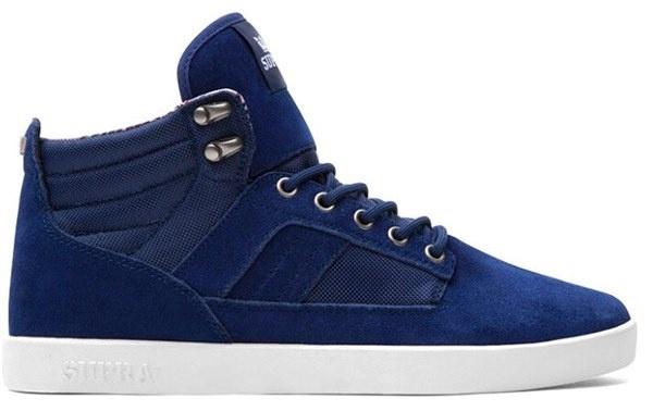 Mens Bandit Supra Sneakers Blanc Taille Bleu 36 6X6rGRYGI