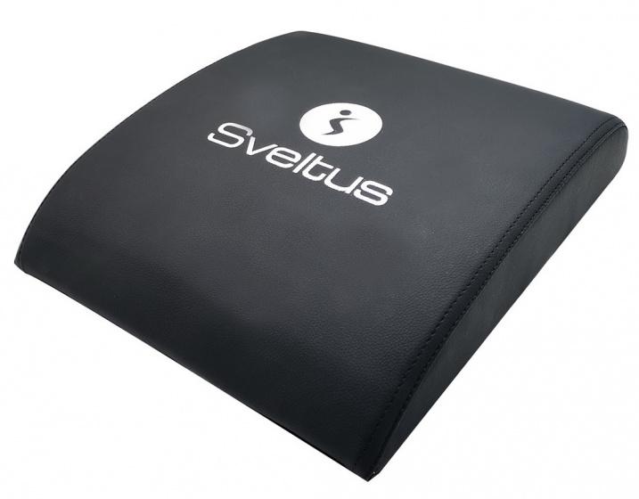 Sveltus kussen voor buikspiertraining 37 cm foam zwart
