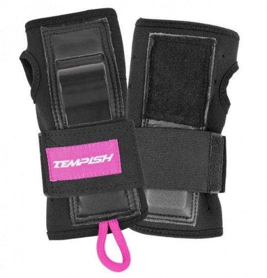 Tempish polsbeschermer Acura 1 unisex zwart-roze maat S
