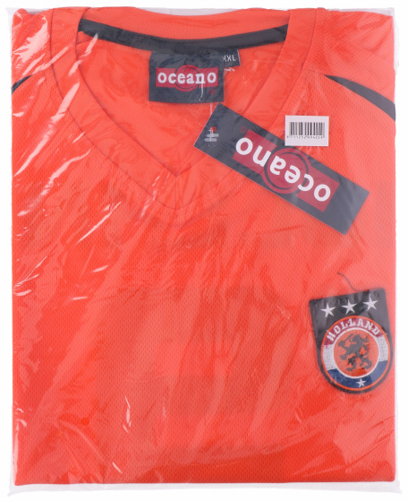 TOM voetbalshirt Holland heren polyester oranje