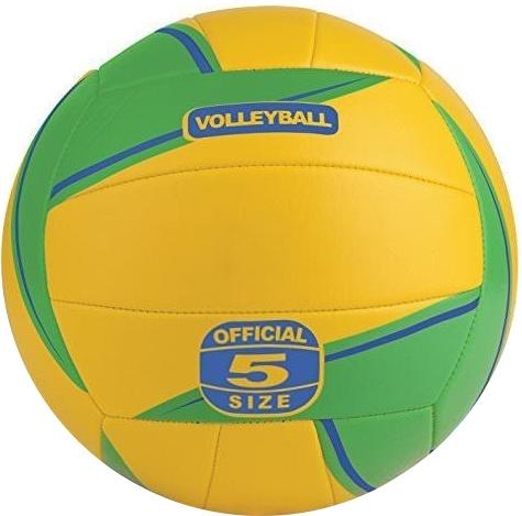 Toyrific volleybal geel-groen maat 5