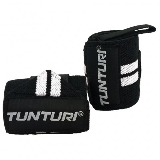 Tunturi Wrist Wraps Zwart-Wit