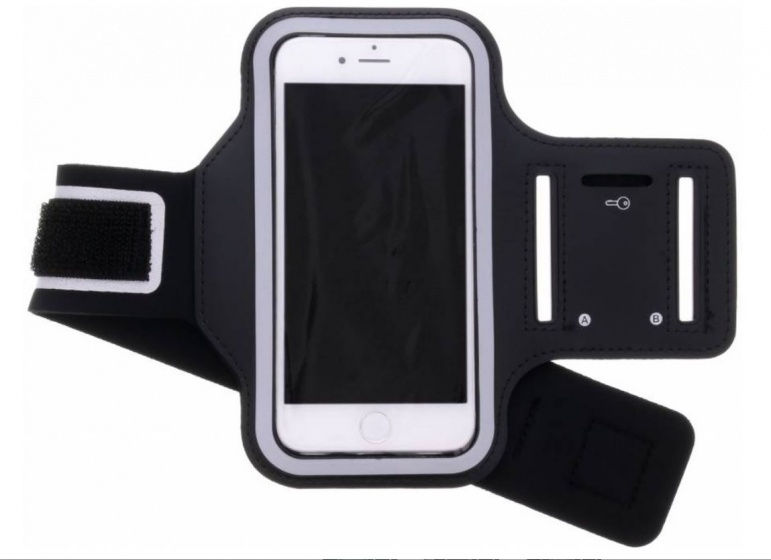 Tunturi Telephone Sport Armband Black Stuk