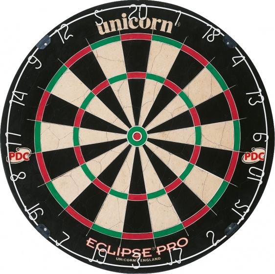 Unicorn eclipse pro dartbord dit dartbord heeft een dunne spider die terugkaatsen bijna helemaal voorkomt. ...