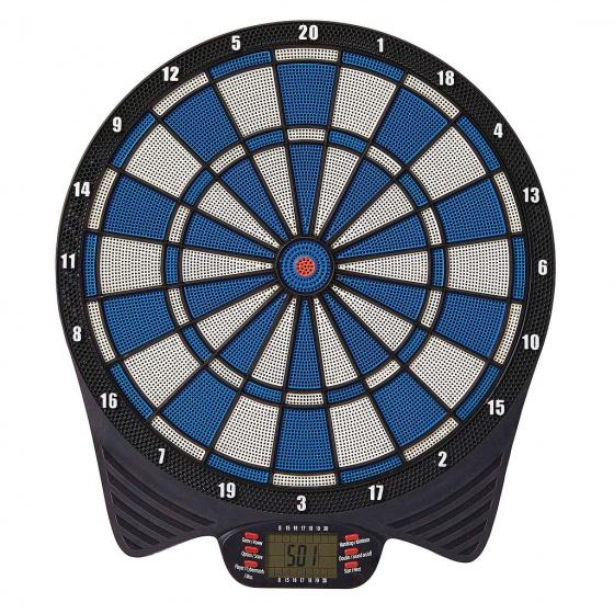 Unicorn elektronisch softtip dartbord 40,5 cm rood-blauw