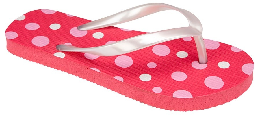 Waimea Teenslippers junior print Fuchsia wit