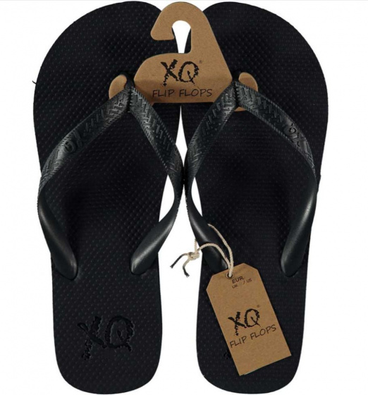 XQ Footwear teenslipper heren polyester navy