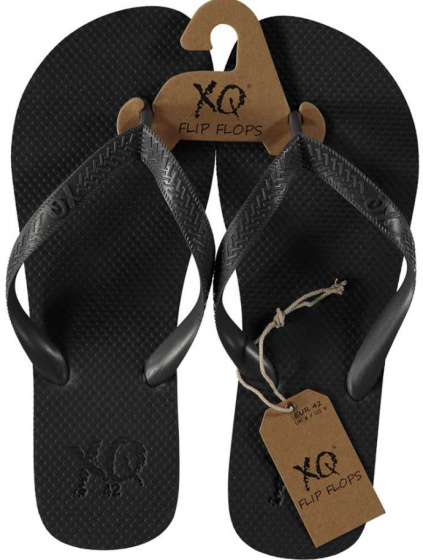 XQ Footwear teenslipper heren polyester antraciet