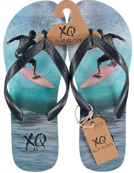 XQ Footwear teenslipper Surf jongens EVA lichtblauw