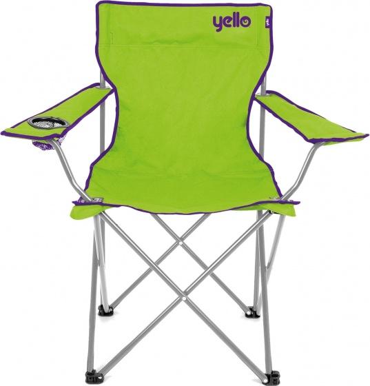 Yello campingstoel 48 x 81 x 85 cm unisex groen