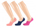 Apollo no-show sokken Basic bamboe fashion 3-pack