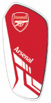 Arsenal scheenbeschermers Merchandise junior EVA rood/wit