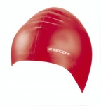 Beco kinder badmuts siliconen junior rood one size