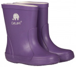 CeLaVi regenlaarzen Wellies junior rubber purper
