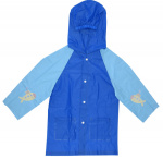 Free and Easy regenjas junior polyester donkerblauw