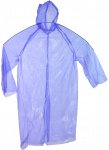 Free and Easy regenjas unisex one size blauw