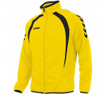 Hummel sportjack Team Top Full Zip junior polyester geel