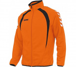Hummel sportjack Team Top Full Zip junior polyester oranje