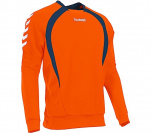 Hummel sportsweater Team Top Round Neck heren polyester denim