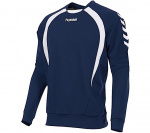 Hummel sportsweater Team Top Round Neck heren polyester marine