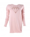 Papillon women's long-sleeved shirt in pink