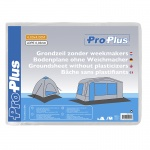 ProPlus grondzeil zonder weekmakers 4x4 meter 0,03 mm transparant