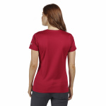 Regatta T-shirt Fingel V Graphic dames polyester donkerrood