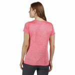 Regatta T-shirt Fingel V Graphic dames polyester roze