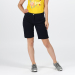 Regatta Solita II korte broek chino dames navy