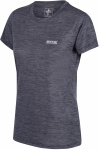 Regatta T-shirt Fingel V Graphic dames polyester donkergrijs