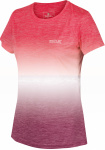 Regatta T-shirt Fingel V Graphic dames polyester roze/paars
