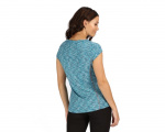 Regatta t-shirt hyperdimension dames polyester enamel