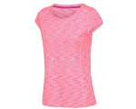 Regatta t-shirt Hyperdimension dames polyester lichtroze