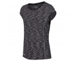 Regatta t-shirt Hyperdimension dames polyester zwart