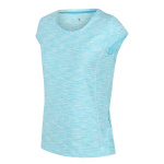 Regatta T-shirt Hyperdimension dames polyester lichtblauw