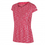 Regatta T-shirt Hyperdimension dames polyester roze