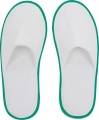 Small Foot Huis- Of Hotelslippers Wit / Groen One Size