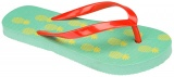 Waimea Teenslippers junior print groen geel